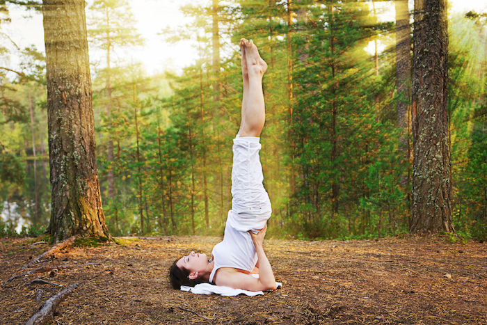 Third Eye Chakra Yoga Pose