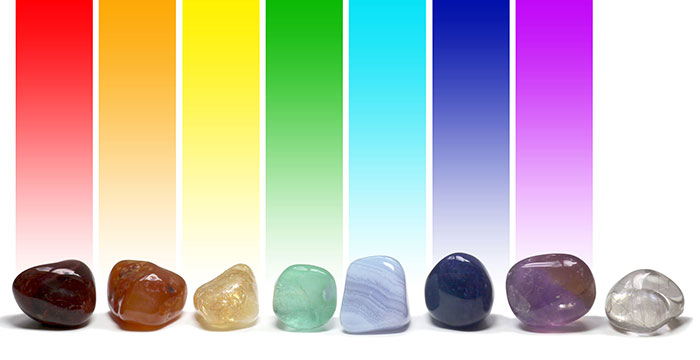 Healing Stones and Chakra Colors
